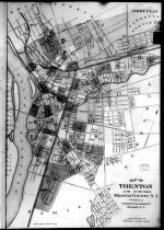 Index Map - Trenton, Mercer County 1890